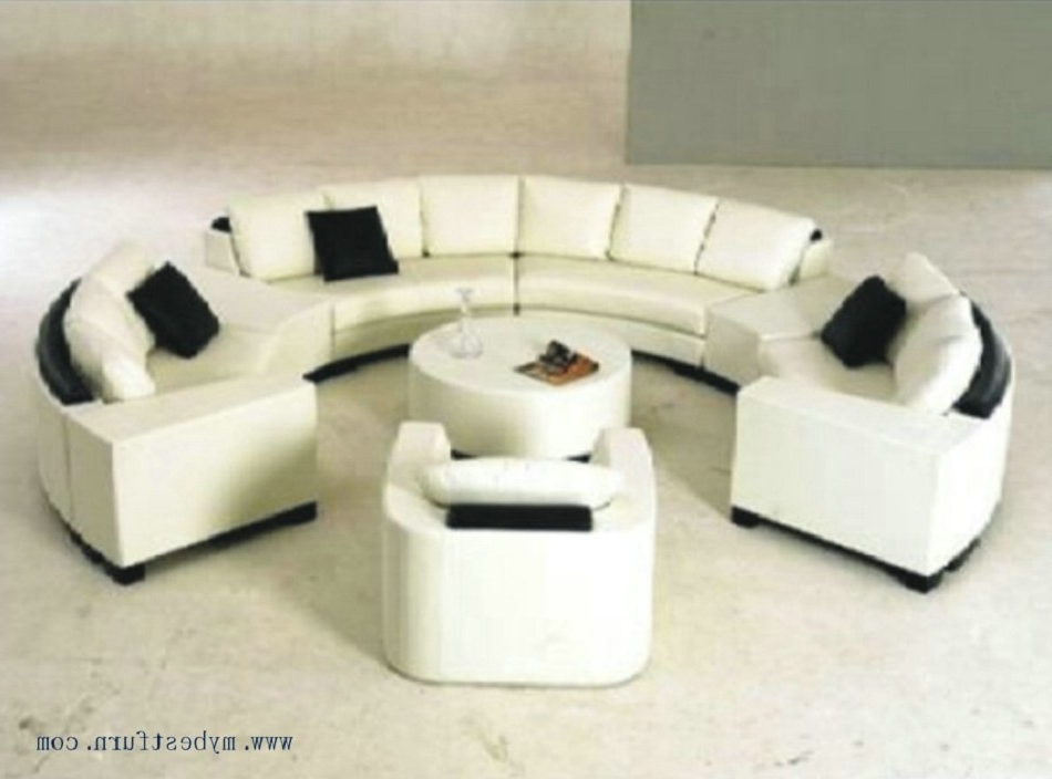 2017 Luxury Sofa Extra Large Settee Nice Real Leather Sofas Round With Regard To C Shaped Sofas (View 5 of 10)