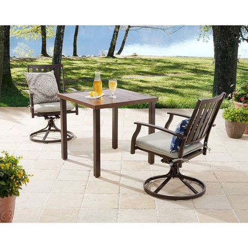 2017 Outdoor Sofas And Chairs Throughout Patio Furniture – Walmart (View 6 of 10)