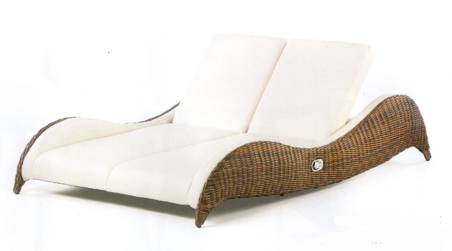 2017 Popular Double Lounge Chairs And Billy Double Chaise Lounge Chair Pertaining To Overstock Outdoor Chaise Lounge Chairs (View 8 of 15)