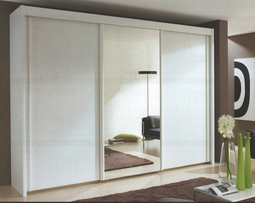 2017 Rauch Imperial Sliding Door Wardrobe 225Cm Wide 197Cm High (View 1 of 15)