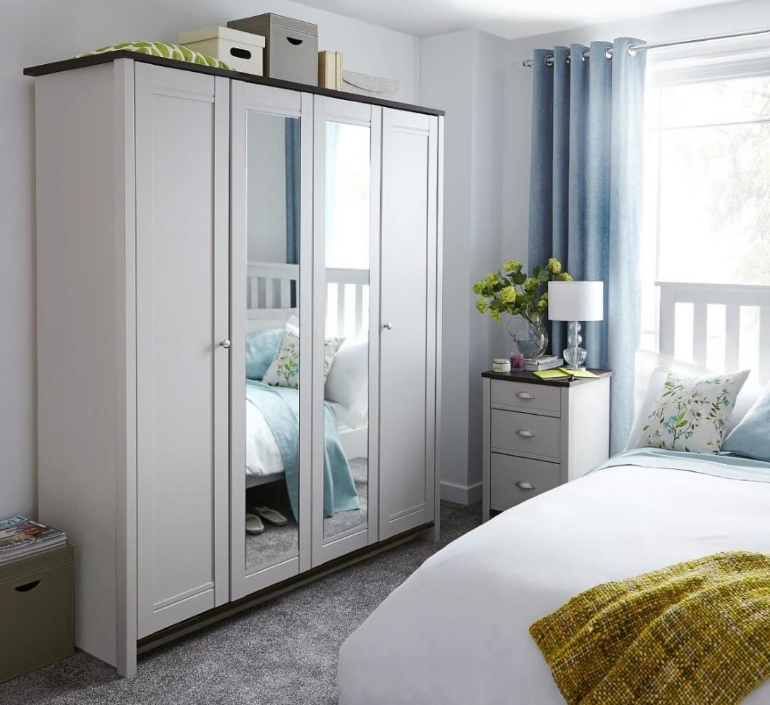 2017 Ready Assembled Bedroom Wardrobes Amazon At Argos Cheap White Best Inside Cheap Bedroom Wardrobes (View 3 of 15)