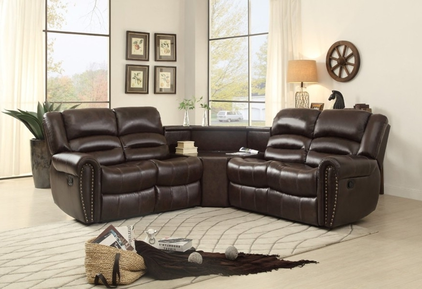 2017 Sectional Sofas For Small Spaces With Recliners In Top 10 Best Reclining Sofas (2018) (View 1 of 10)