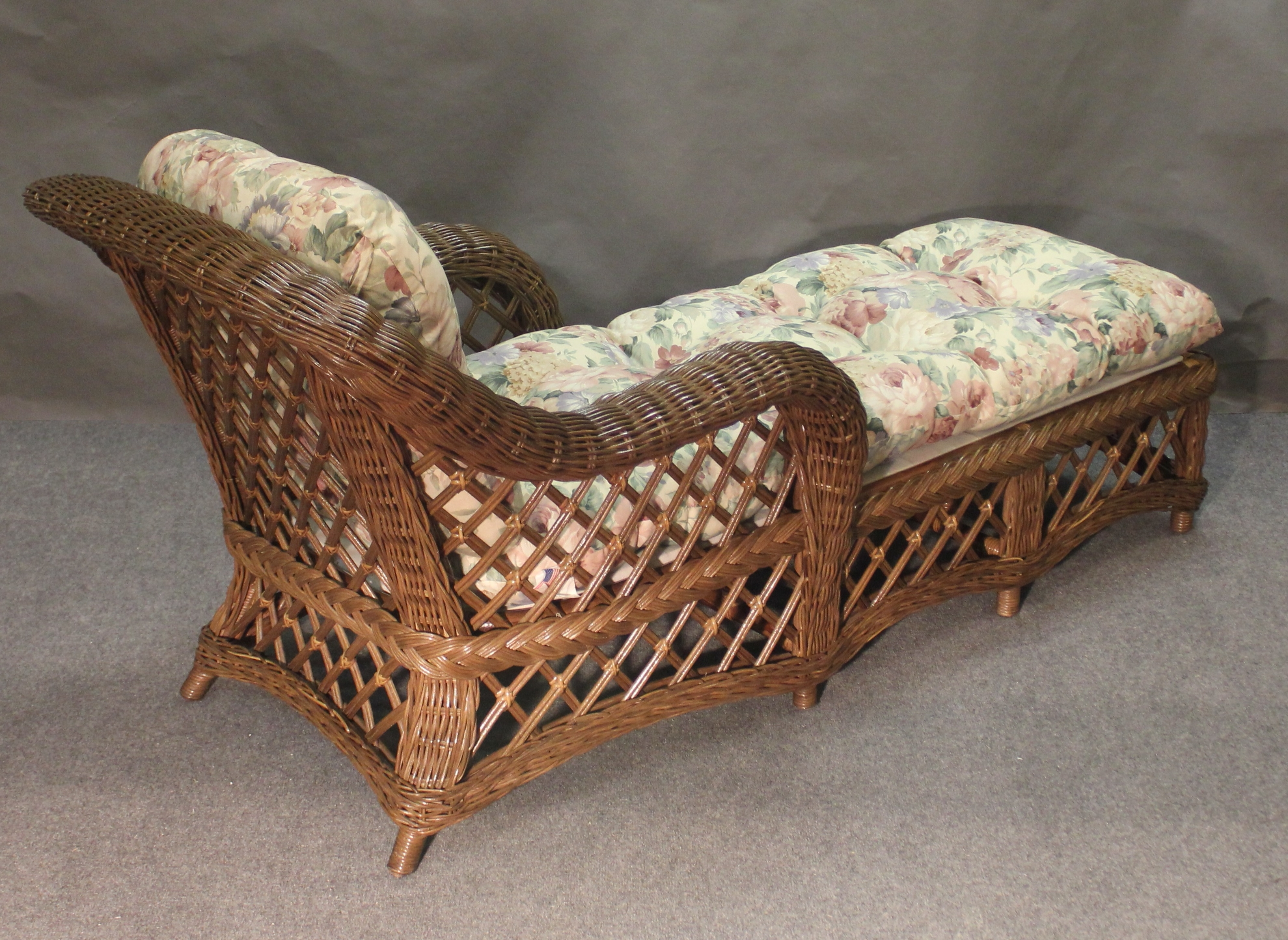 2017 Wicker Chaise Lounges Intended For Cape Cod Wicker Chaise Lounge, All About Wicker (View 2 of 15)