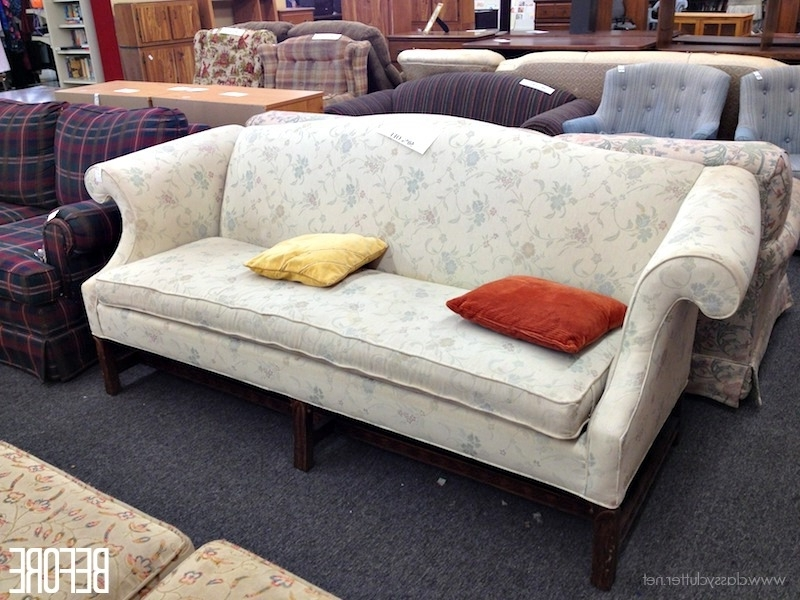 2018 Affordable Tufted Sofas Regarding How To Reupholster A Sofa (View 1 of 15)