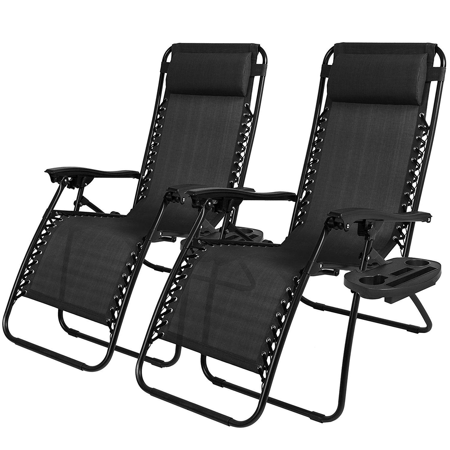 2018 Amazon : Best Choice Products Zero Gravity Chairs Case Of (2 Inside Zero Gravity Chaise Lounge Chairs (View 3 of 15)