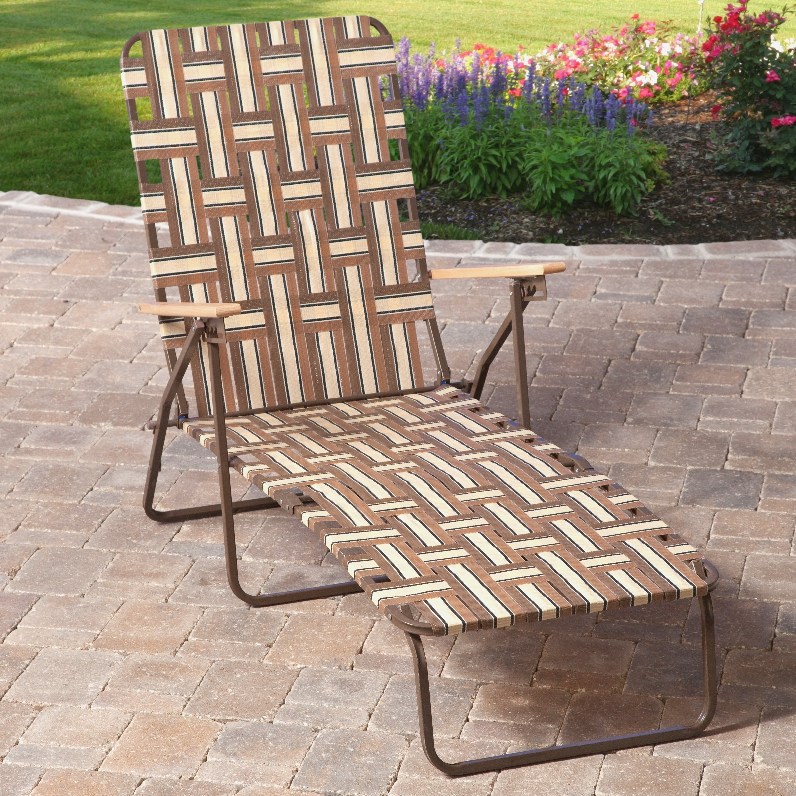 2018 Atlanta Chaise Lounge Chairs Throughout Restrapping Patio Chairs Beautiful Vinyl Restrapping Your Atlanta (View 1 of 15)