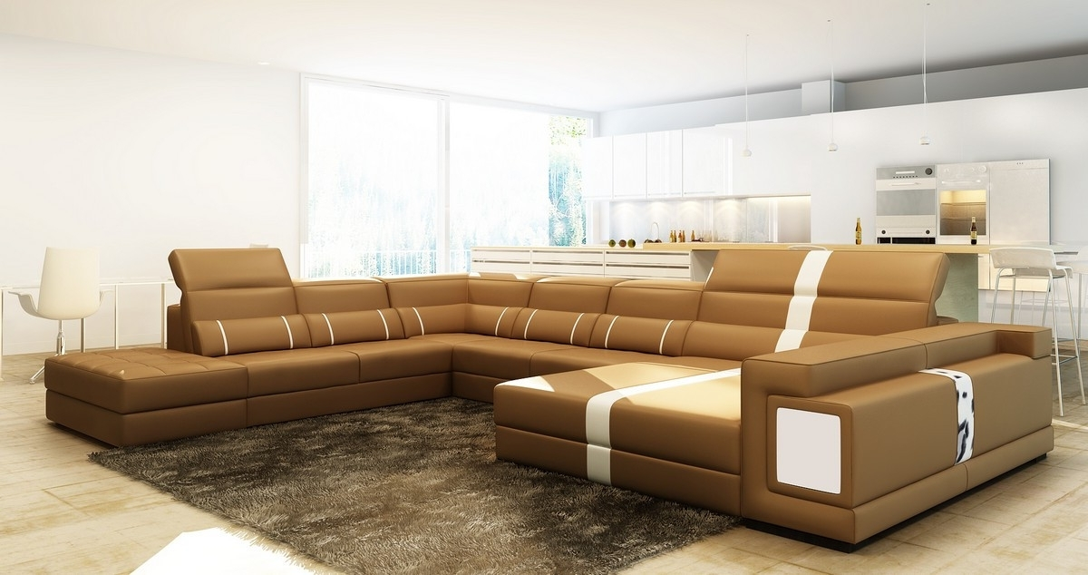 Top 10 of Camel Colored Sectional Sofas