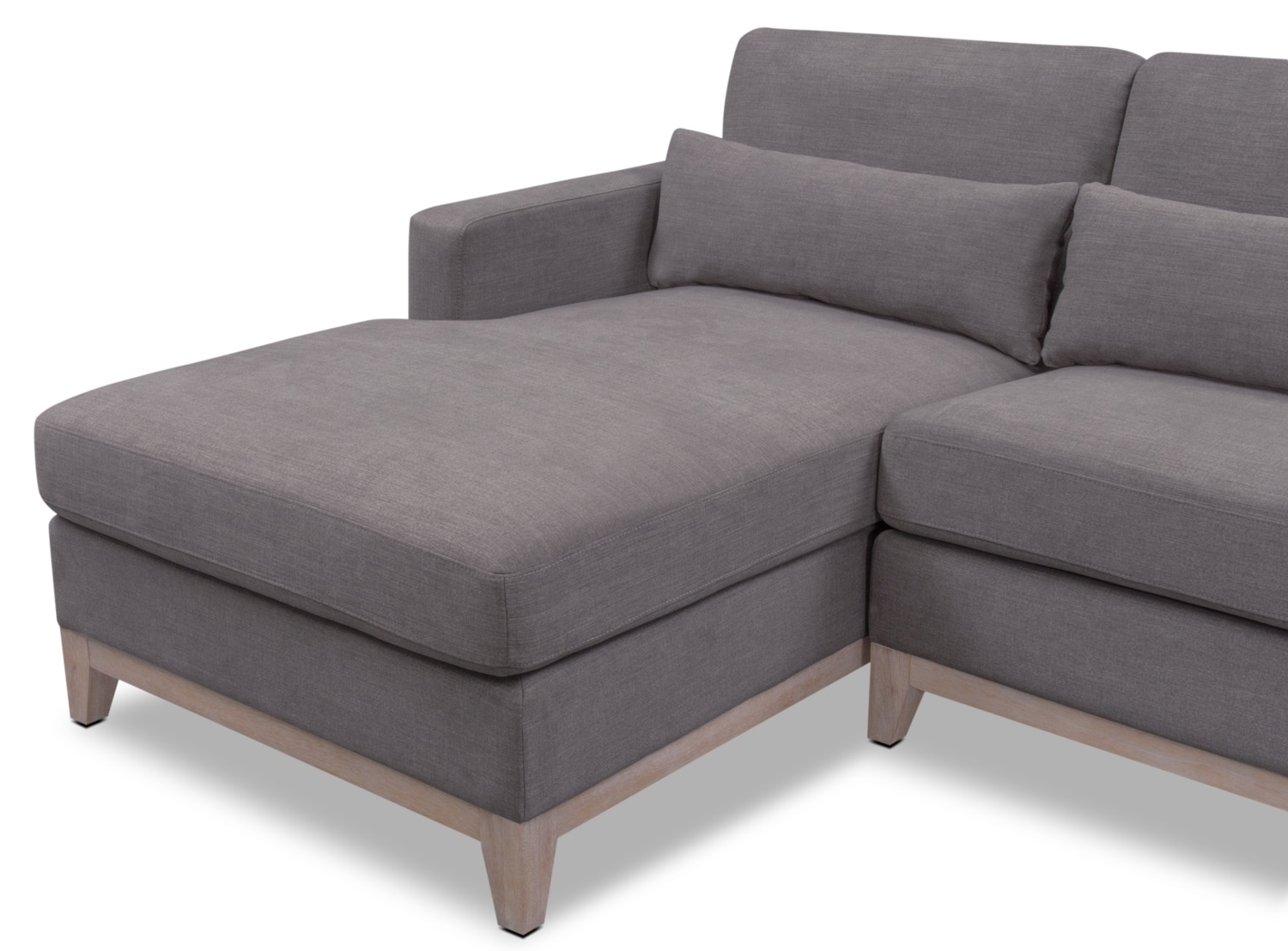 2018 Crosby 2 Piece Sectional With Right Facing Chaise – Gray (View 11 of 15)