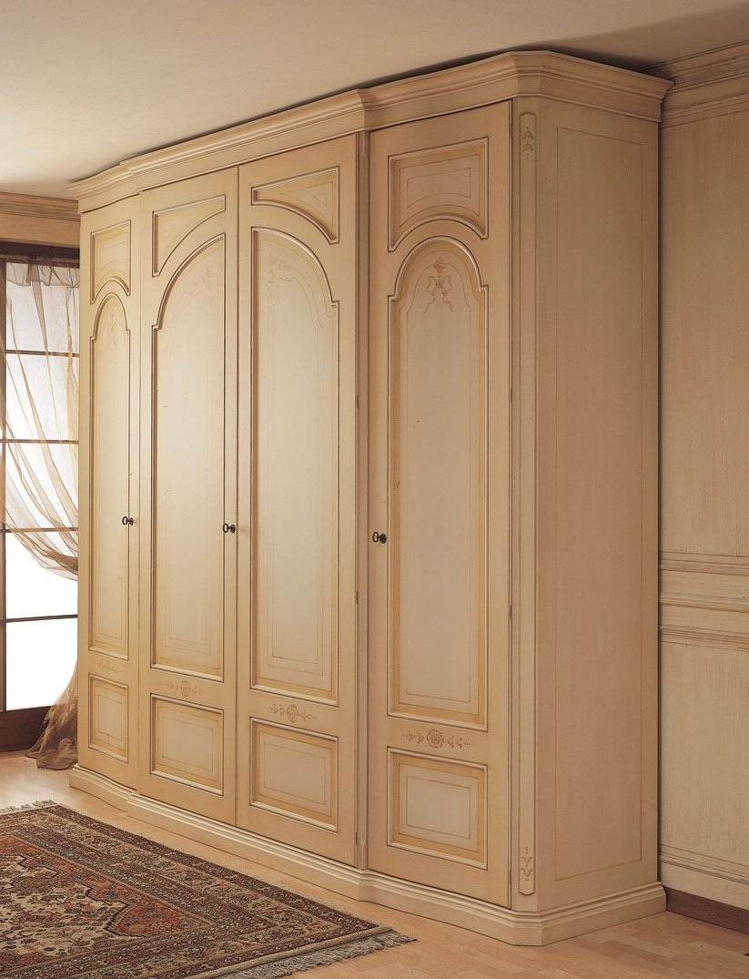 2018 French Style Wardrobe Closet #wardrobes #closet #armoire Storage Within French Built In Wardrobes (View 1 of 15)