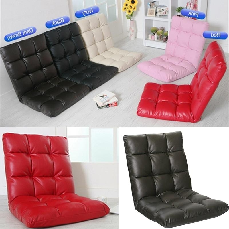 2018 Home & Garden & Bedroom Furniture Pu Leather Lazy Sofa Floor With Most Popular Lazy Sofa Chairs (View 9 of 10)