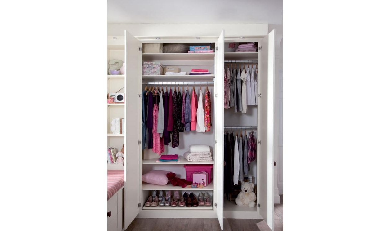 2018 Kids Bedroom Furniture – Childrens Bedroom Designssharps For Girls Wardrobes (View 2 of 15)