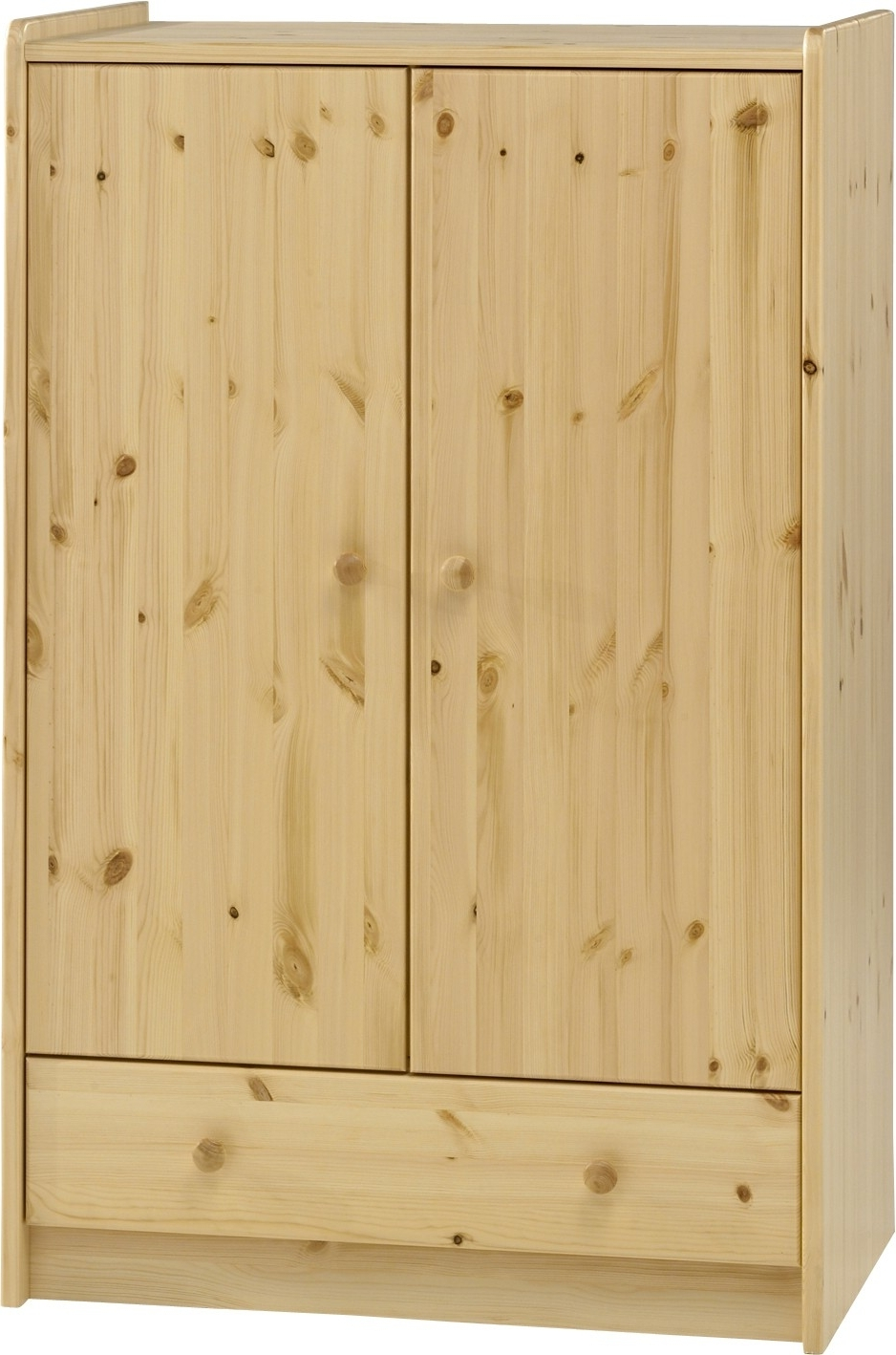2018 Kids Pine Wardrobes Throughout Steens For Kids Pine Low Wardrobe (View 2 of 15)