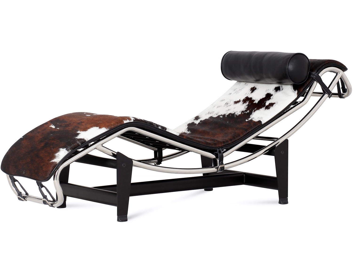 2018 Le Corbusier Lc4 Chaise Longue Cowhide (Platinum Replica) Within Le Corbusier Chaises (View 1 of 15)