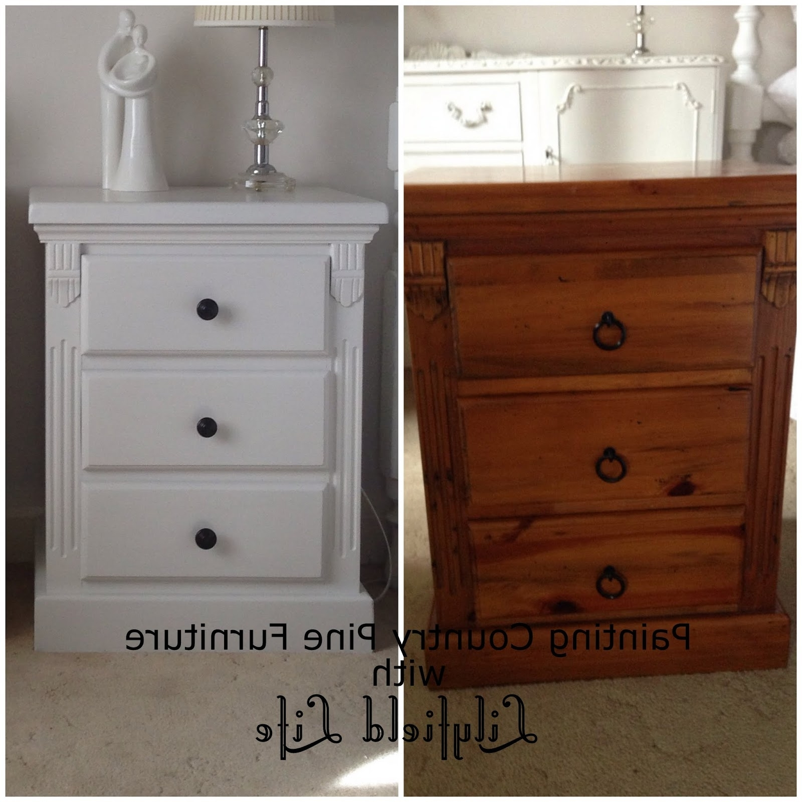 2018 Lilyfield Life: Painting Country Pine Furniture Pertaining To White And Pine Wardrobes (View 7 of 15)