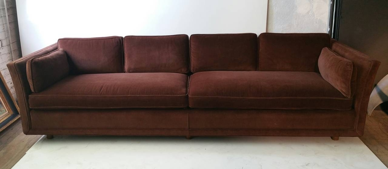 2018 Modernist Four Seater Sofa, Designedharvey Probber At 1Stdibs For Four Seater Sofas (View 1 of 10)