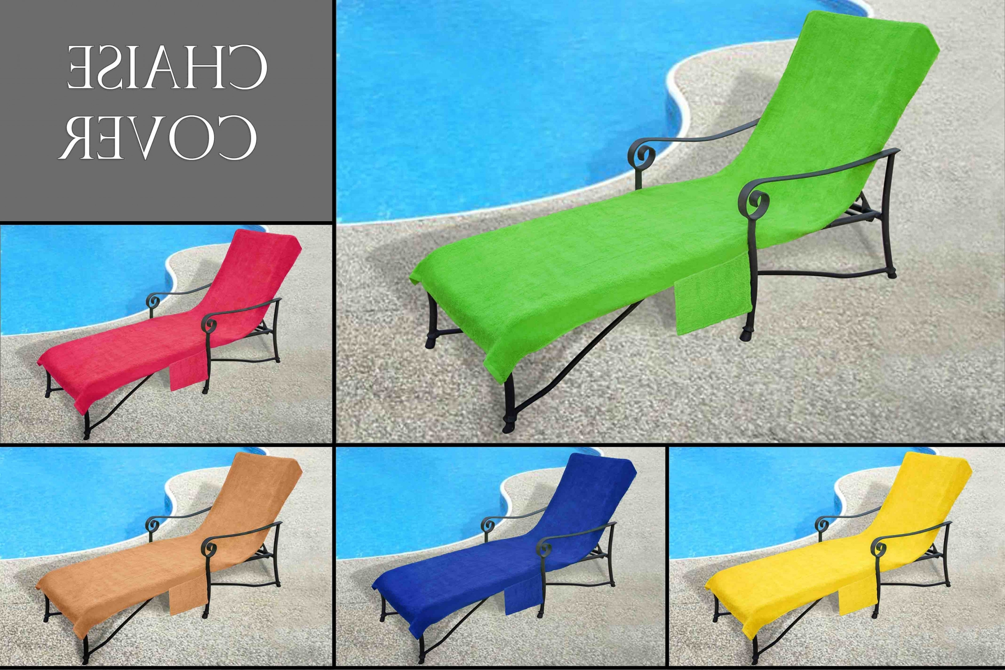2018 Pool Side 1000 Gram Chaise Cover, Pool Lounge Chair Cover, Lawn In  Chaise