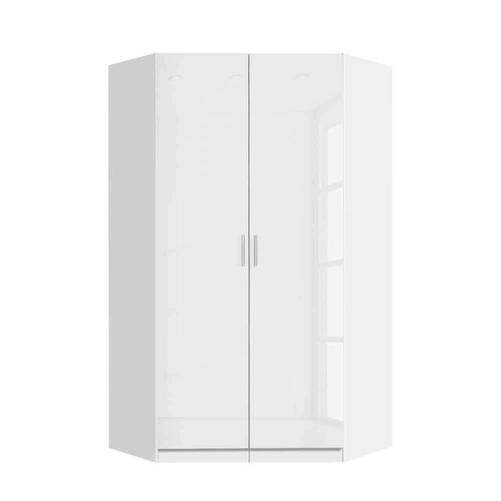 2018 Tall White Gloss Wardrobes Intended For Rauch Celline High Gloss Bedroom Furniture – Simplybedrooms (View 2 of 15)