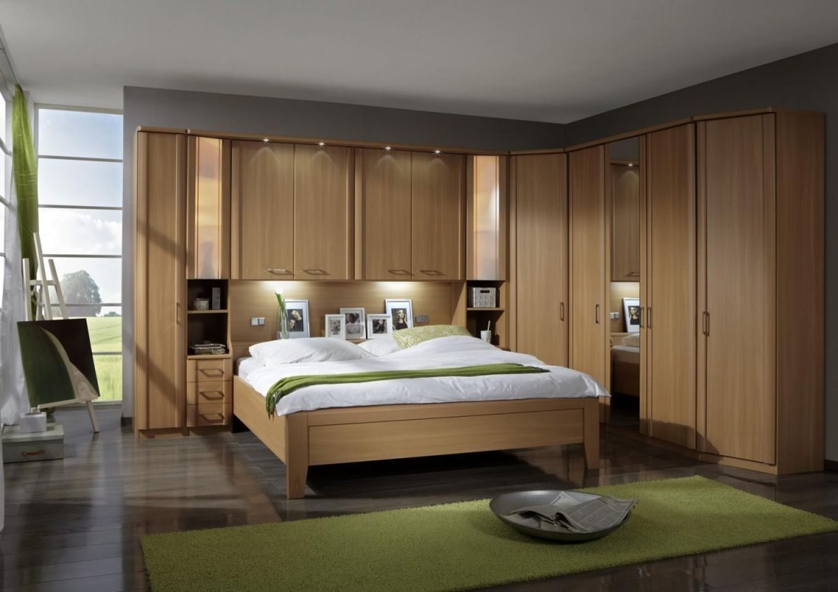 2018 Wiemann Luxor 4 Overbed Unit With 33Cm Straight Doors And Drawers With Over Bed Wardrobes Sets (View 1 of 15)