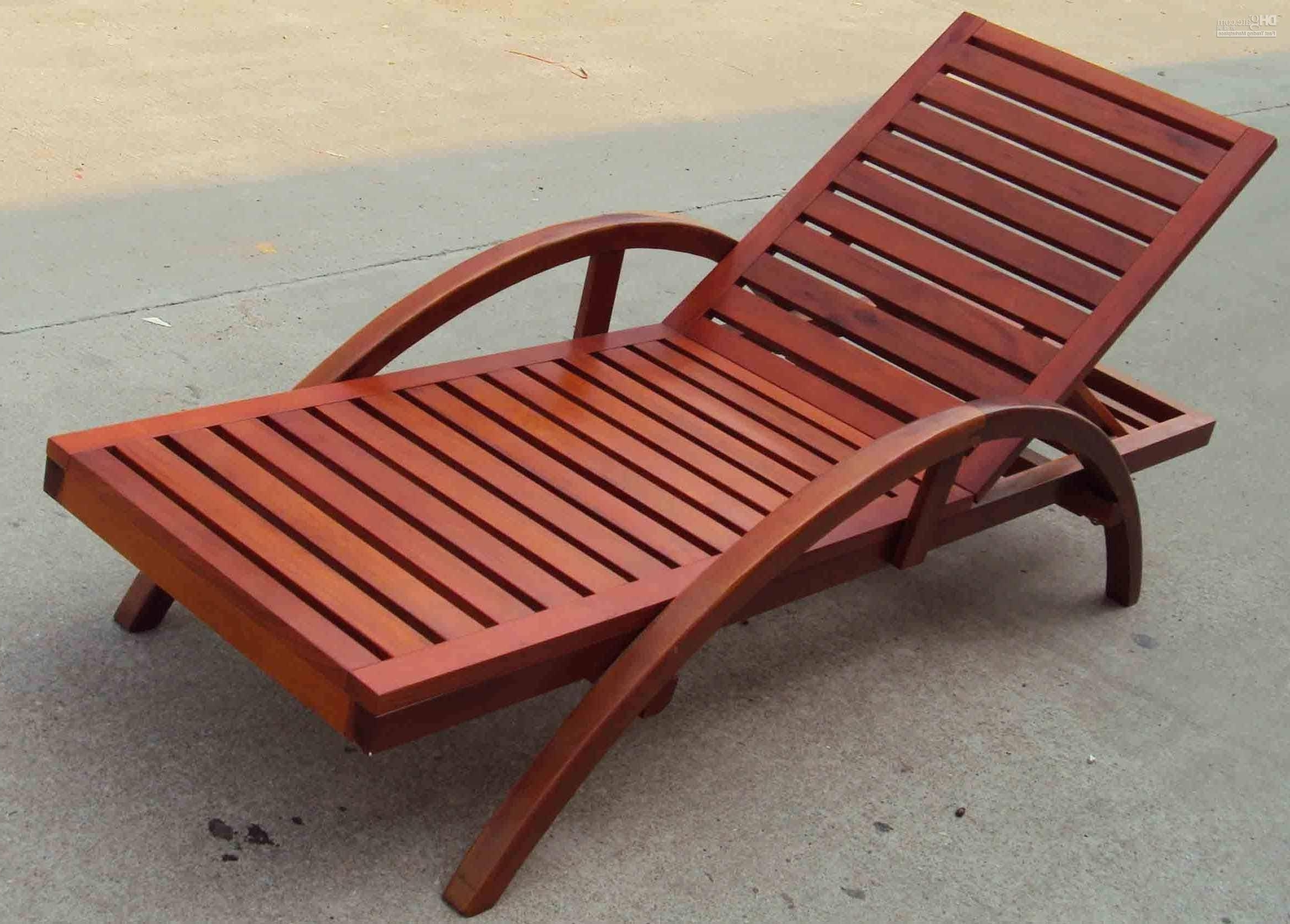 2018 Wooden Beach Lounge Chair Plans • Lounge Chairs Ideas Inside Chaise Lounge Beach Chairs (View 10 of 15)