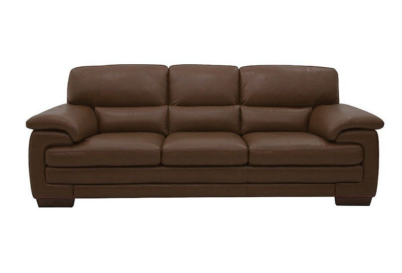 3 Seater Leather Sofas Inside Popular Daniel Of Windsor, Chiswick And Ealing Htl Utah 3 Seater Leather Sofa (View 2 of 15)
