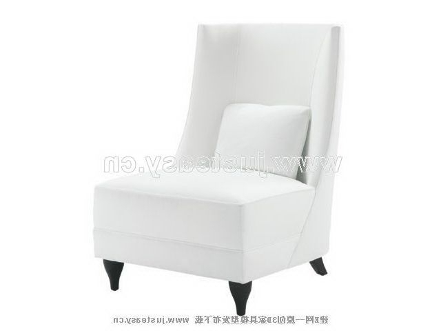 3ds Max, Chairs Throughout White Sofa Chairs (View 4 of 10)