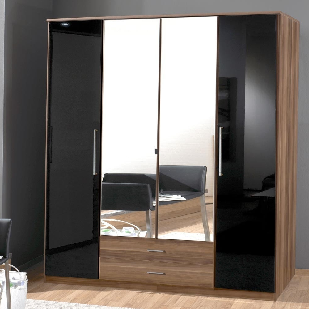 4 Door Wardrobes Throughout Fashionable Furniture For Modern Living – Furniture For Modern Living (View 2 of 15)