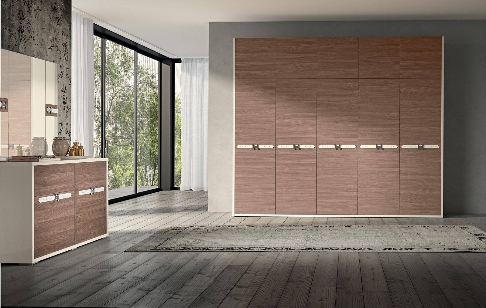 5 Door Wardrobe Bedroom Furniture (Gallery 10 Of 15)