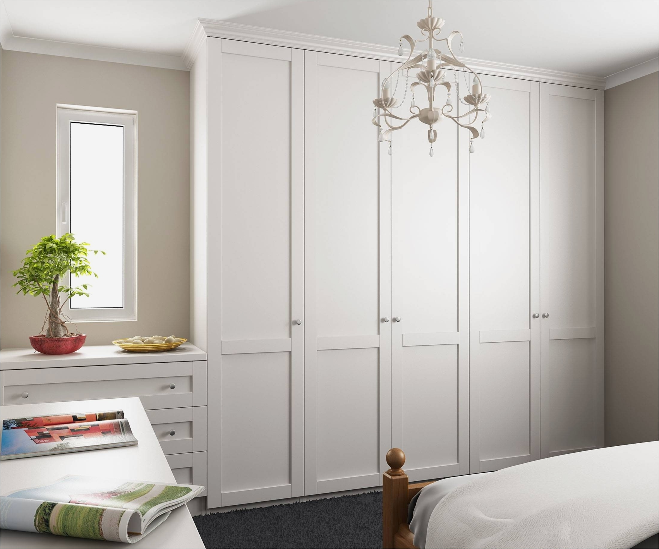 5 Door Wardrobes Bedroom Furniture Pertaining To Most Current Bedroom Furniture Ideas Inspirational 15 Best Ideas Of 5 Door (View 6 of 15)