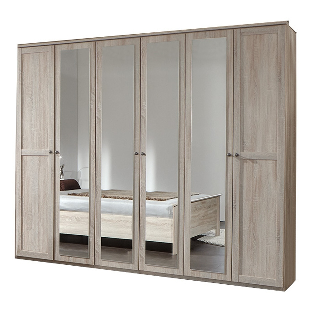 6 Door Wardrobes Inside Most Popular Wardrobes (Gallery 15 of 15)