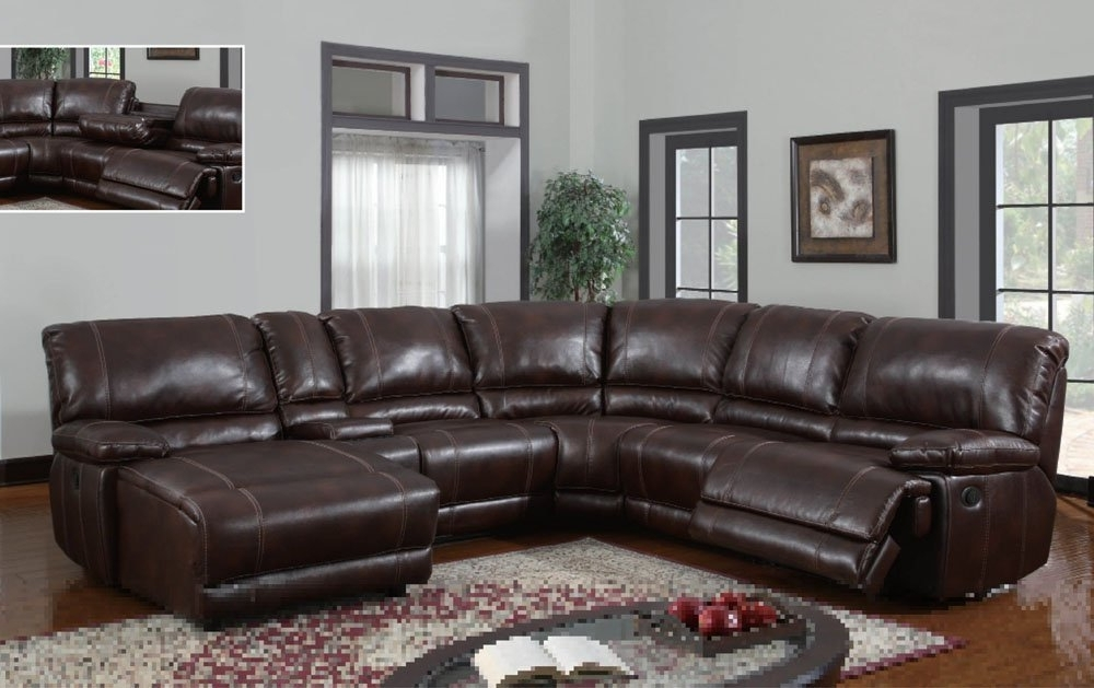 6 Piece Leather Sectional Sofas With Trendy Amazon: Global Furniture Usa U1953 Sectional Global Furniture (Gallery 2 of 15)