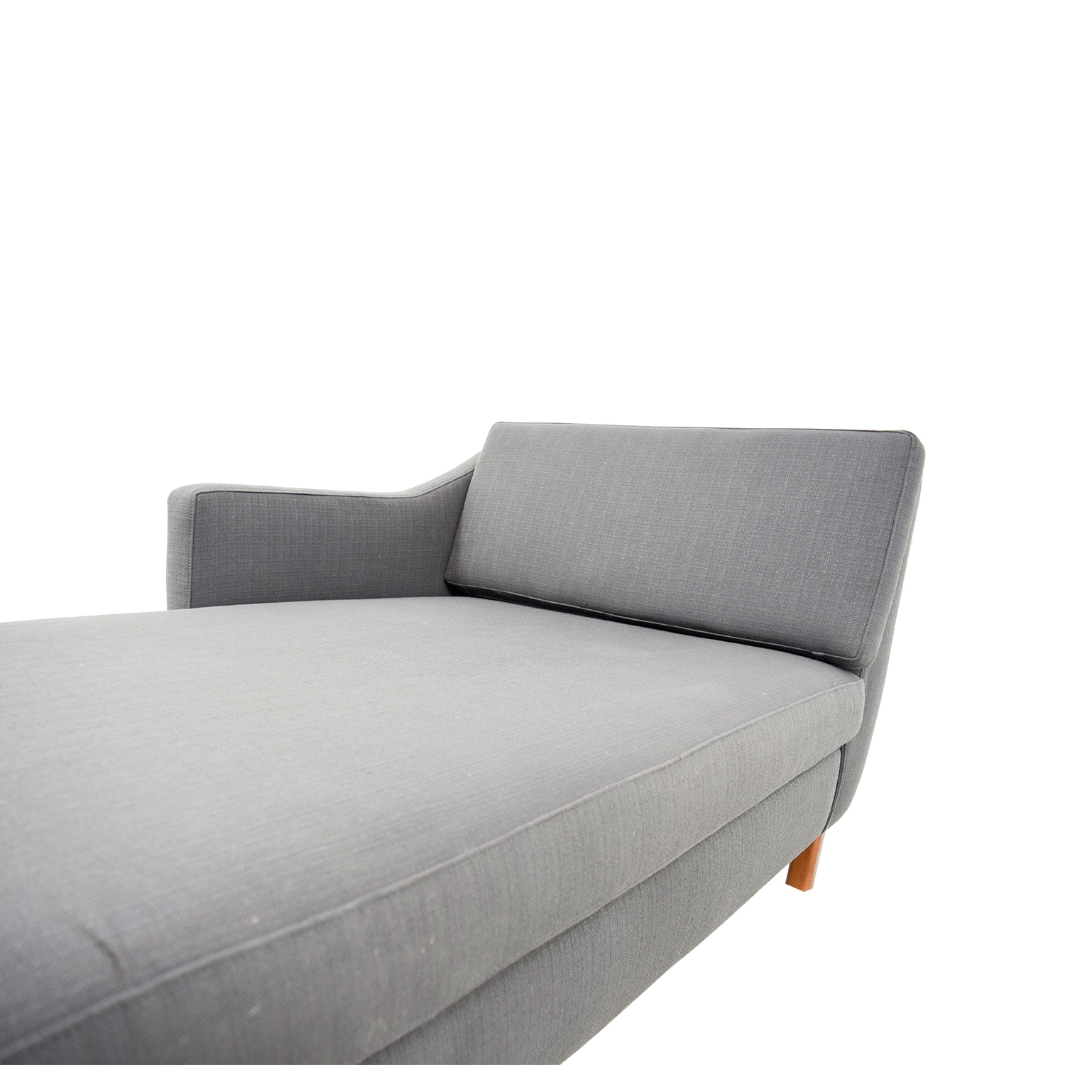 [%72% Off – Benchmade Modern Benchmade Modern Gray Single Arm Chaise Intended For Preferred Gray Chaises|Gray Chaises Regarding 2018 72% Off – Benchmade Modern Benchmade Modern Gray Single Arm Chaise|Fashionable Gray Chaises Inside 72% Off – Benchmade Modern Benchmade Modern Gray Single Arm Chaise|2017 72% Off – Benchmade Modern Benchmade Modern Gray Single Arm Chaise Inside Gray Chaises%] (View 7 of 15)