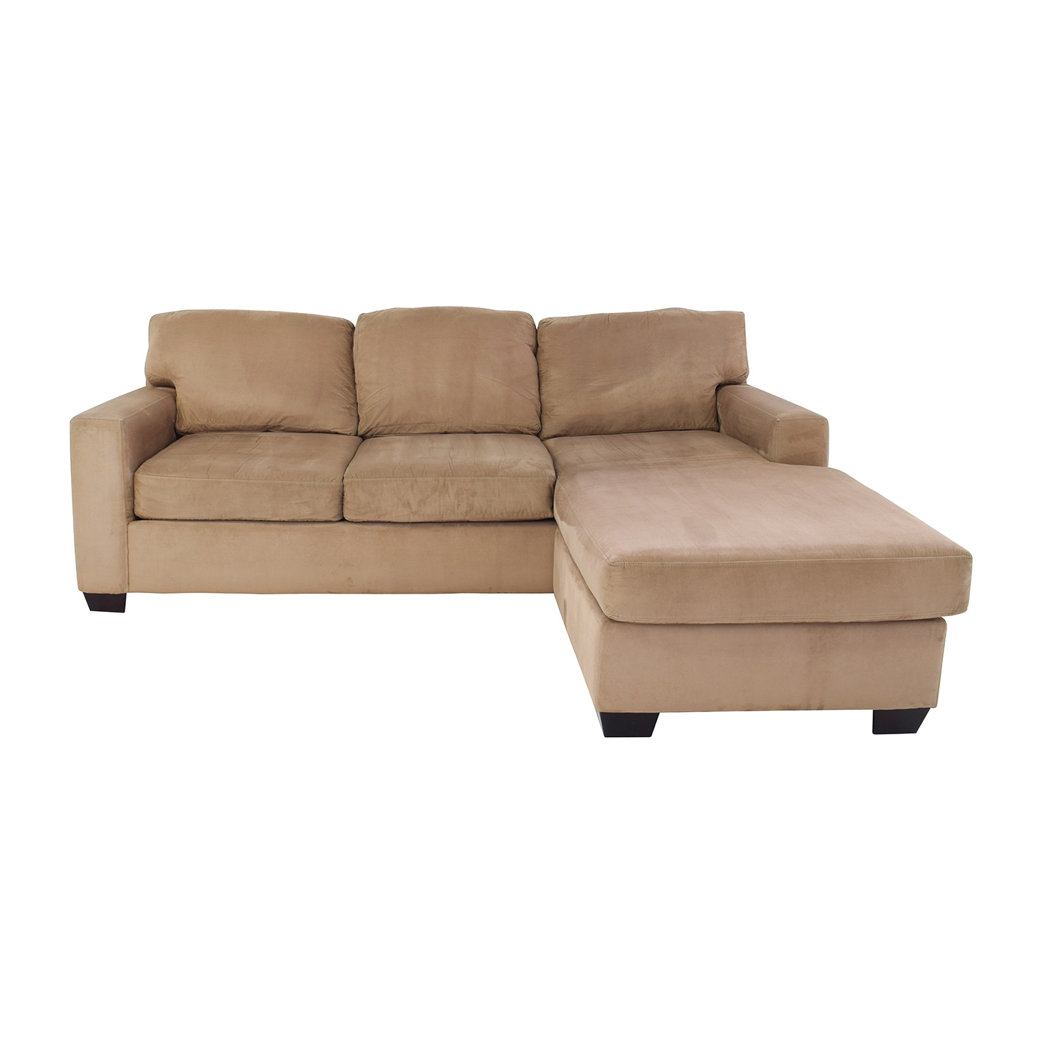 [%75% Off – Max Home Max Home Tan Sectional Chaise Sofa / Sofas Inside Widely Used Chaise Sofas|Chaise Sofas Throughout Most Recent 75% Off – Max Home Max Home Tan Sectional Chaise Sofa / Sofas|Most Popular Chaise Sofas With Regard To 75% Off – Max Home Max Home Tan Sectional Chaise Sofa / Sofas|Most Recently Released 75% Off – Max Home Max Home Tan Sectional Chaise Sofa / Sofas Intended For Chaise Sofas%] (View 10 of 15)