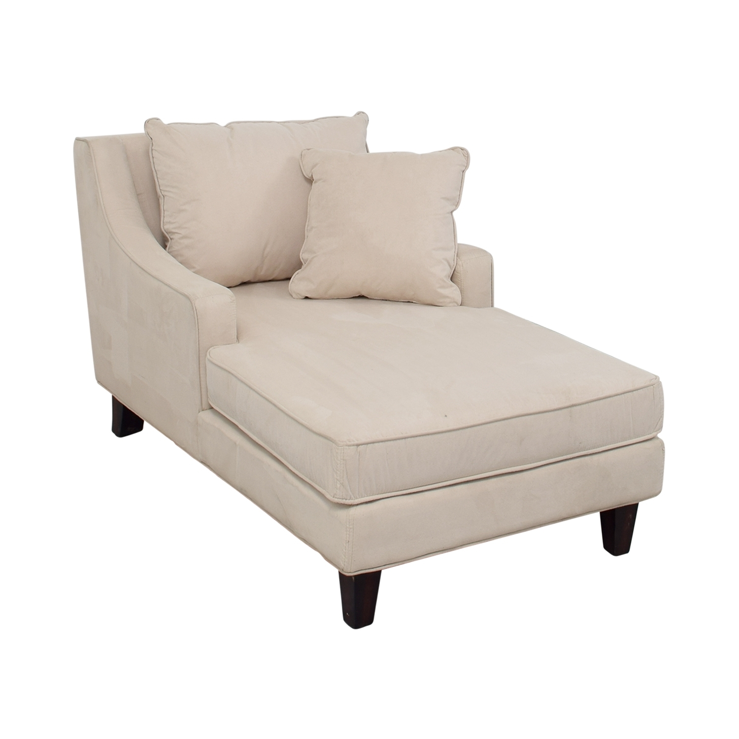 [%80% Off – Coaster Coaster Beige Microfiber Chaise Lounger / Sofas For Recent Microfiber Chaises|Microfiber Chaises For Popular 80% Off – Coaster Coaster Beige Microfiber Chaise Lounger / Sofas|Widely Used Microfiber Chaises Pertaining To 80% Off – Coaster Coaster Beige Microfiber Chaise Lounger / Sofas|Preferred 80% Off – Coaster Coaster Beige Microfiber Chaise Lounger / Sofas In Microfiber Chaises%] (View 5 of 15)