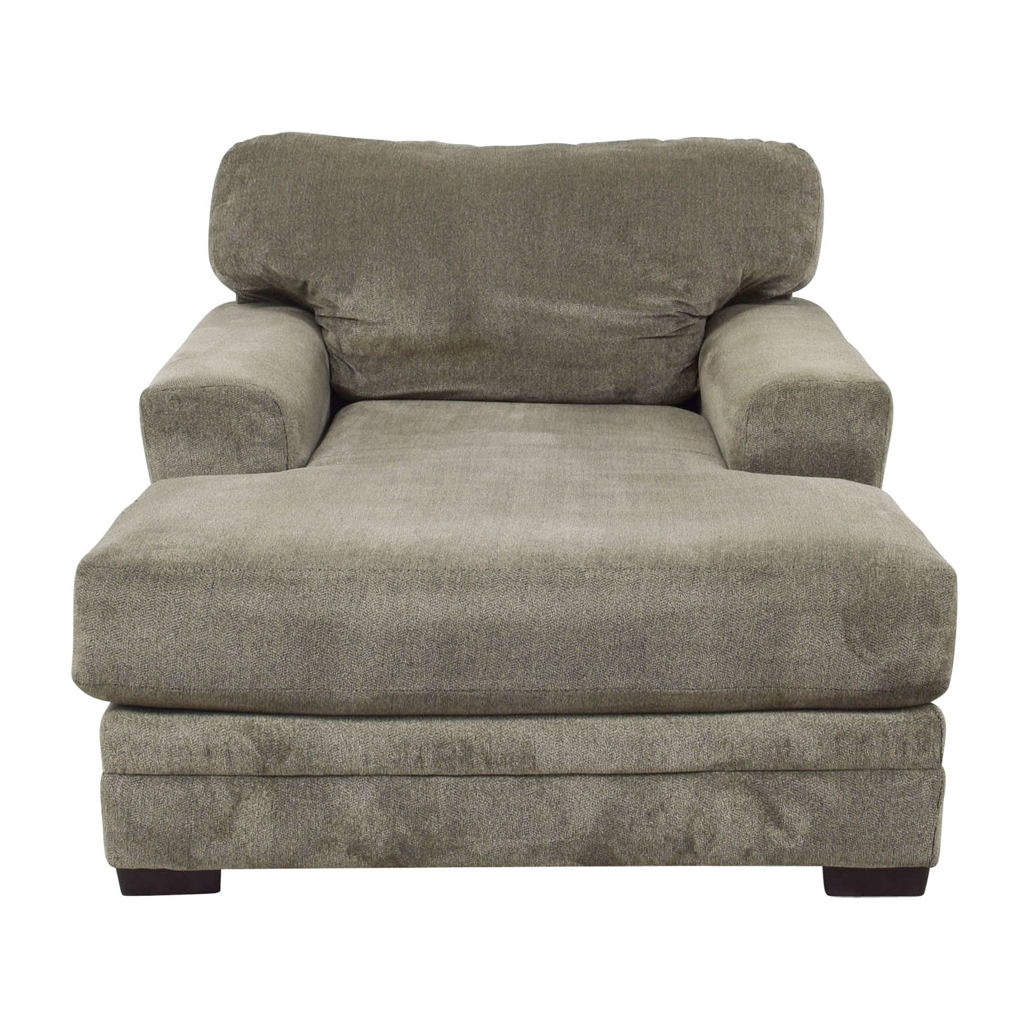 [%81% Off – Bob's Furniture Bob's Furniture Grey Chaise Lounge / Sofas For Famous Gray Chaise Lounges|Gray Chaise Lounges Inside Preferred 81% Off – Bob's Furniture Bob's Furniture Grey Chaise Lounge / Sofas|Most Current Gray Chaise Lounges In 81% Off – Bob's Furniture Bob's Furniture Grey Chaise Lounge / Sofas|Most Popular 81% Off – Bob's Furniture Bob's Furniture Grey Chaise Lounge / Sofas With Gray Chaise Lounges%] (View 1 of 15)