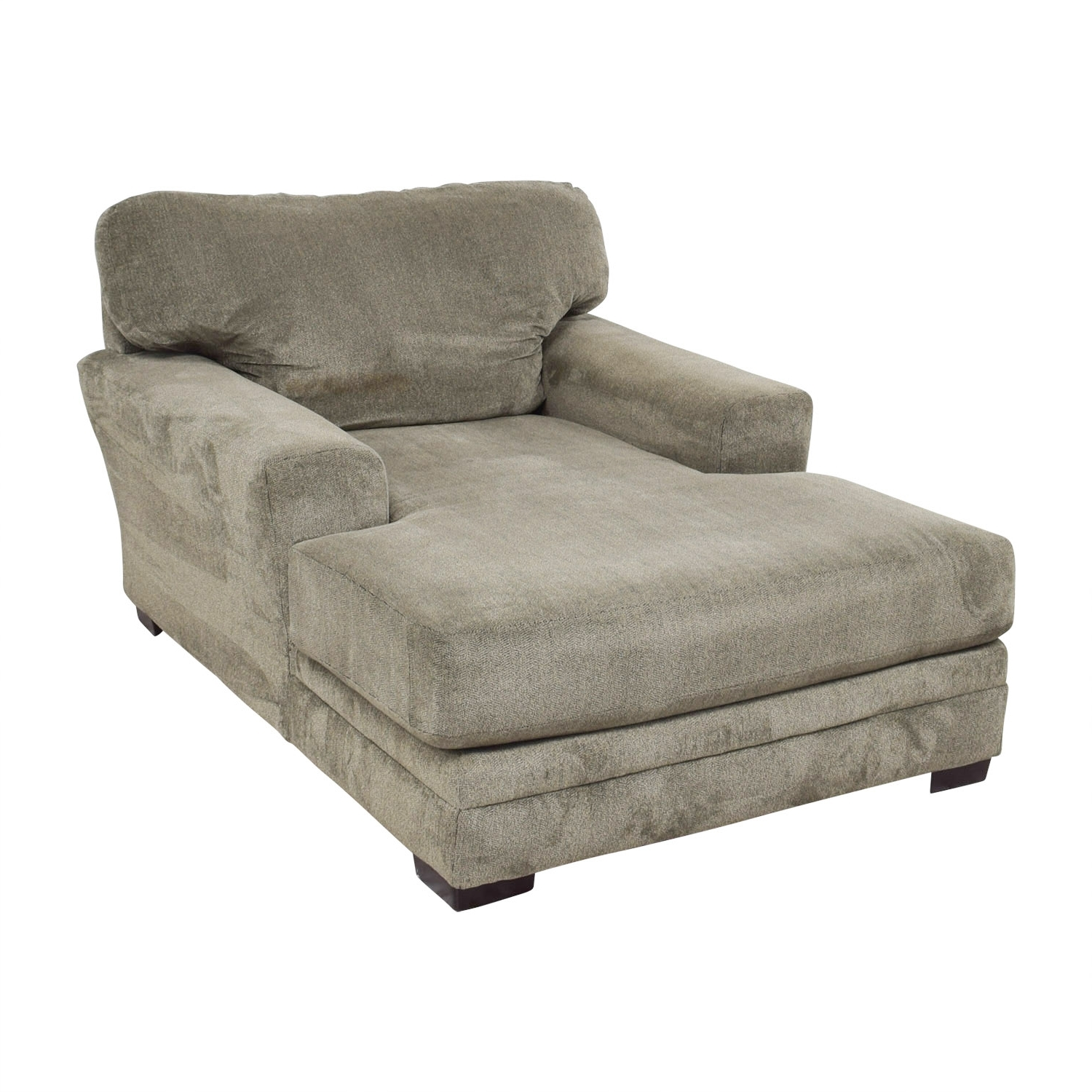 [%81% Off – Bob's Furniture Bob's Furniture Grey Chaise Lounge / Sofas In Most Current Gray Chaises|Gray Chaises Throughout Fashionable 81% Off – Bob's Furniture Bob's Furniture Grey Chaise Lounge / Sofas|Fashionable Gray Chaises In 81% Off – Bob's Furniture Bob's Furniture Grey Chaise Lounge / Sofas|Well Known 81% Off – Bob's Furniture Bob's Furniture Grey Chaise Lounge / Sofas Inside Gray Chaises%] (View 5 of 15)