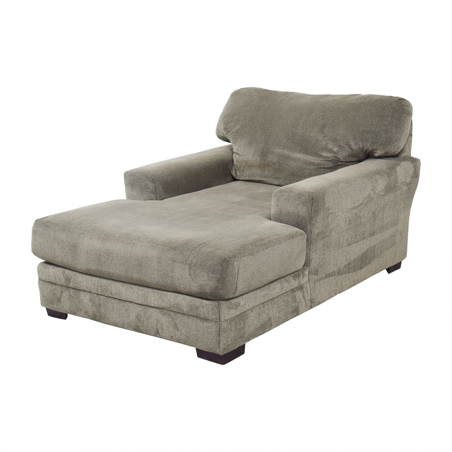 [%81% Off – Bob's Furniture Bob's Furniture Grey Chaise Lounge / Sofas Pertaining To Newest Grey Chaise Lounges|Grey Chaise Lounges Inside Latest 81% Off – Bob's Furniture Bob's Furniture Grey Chaise Lounge / Sofas|Trendy Grey Chaise Lounges In 81% Off – Bob's Furniture Bob's Furniture Grey Chaise Lounge / Sofas|Fashionable 81% Off – Bob's Furniture Bob's Furniture Grey Chaise Lounge / Sofas With Regard To Grey Chaise Lounges%] (View 15 of 15)