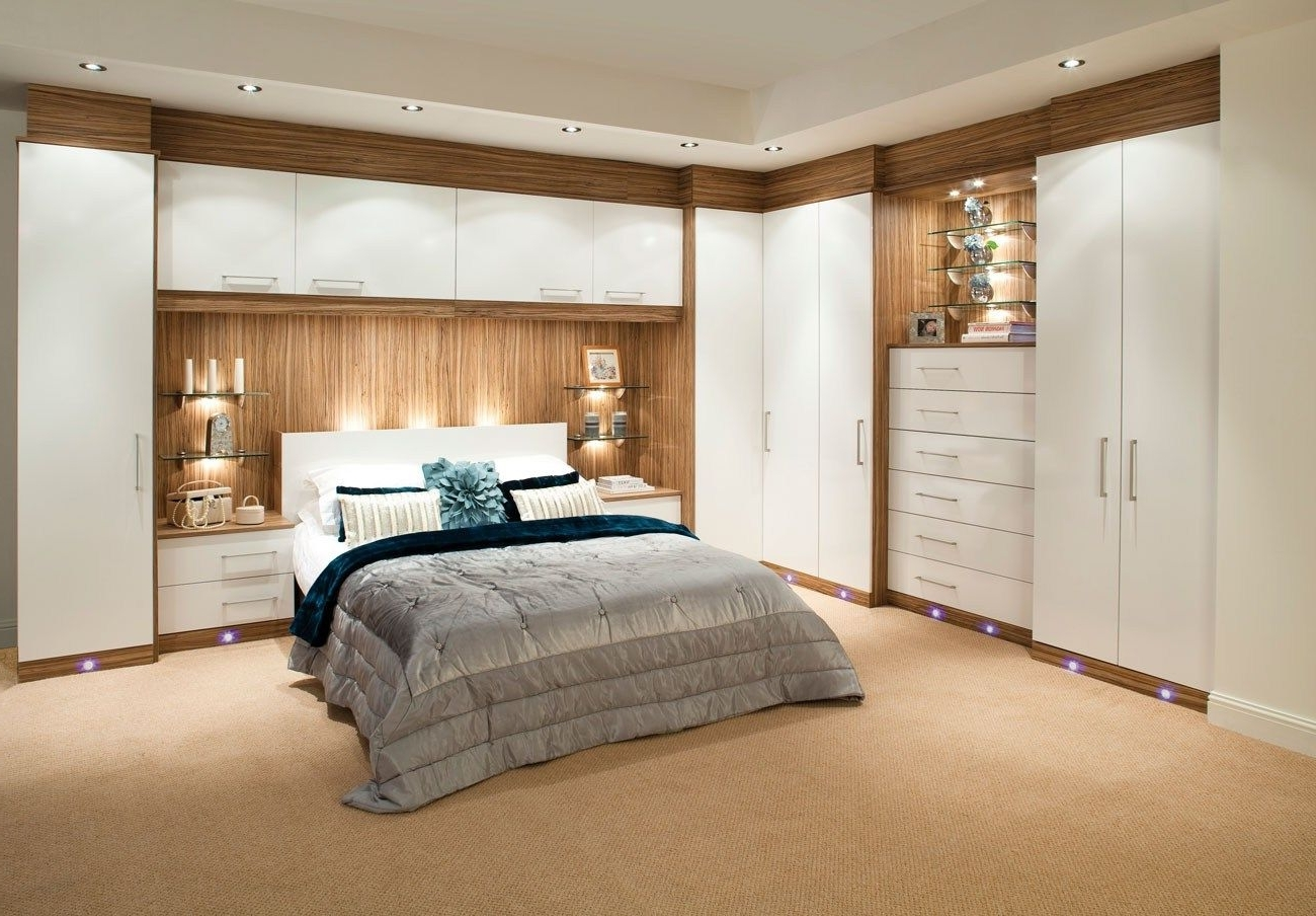 """A Picture From The Gallery """"built In Bedroom Cupboards That You Intended For Recent Wardrobes Beds (View 1 of 15)"""