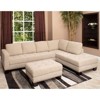 Abbyson Sectional Sofas With Regard To 2018 Richmond Fabric Sectional And Ottoman If One Day I Get Rid Of My (View 7 of 15)