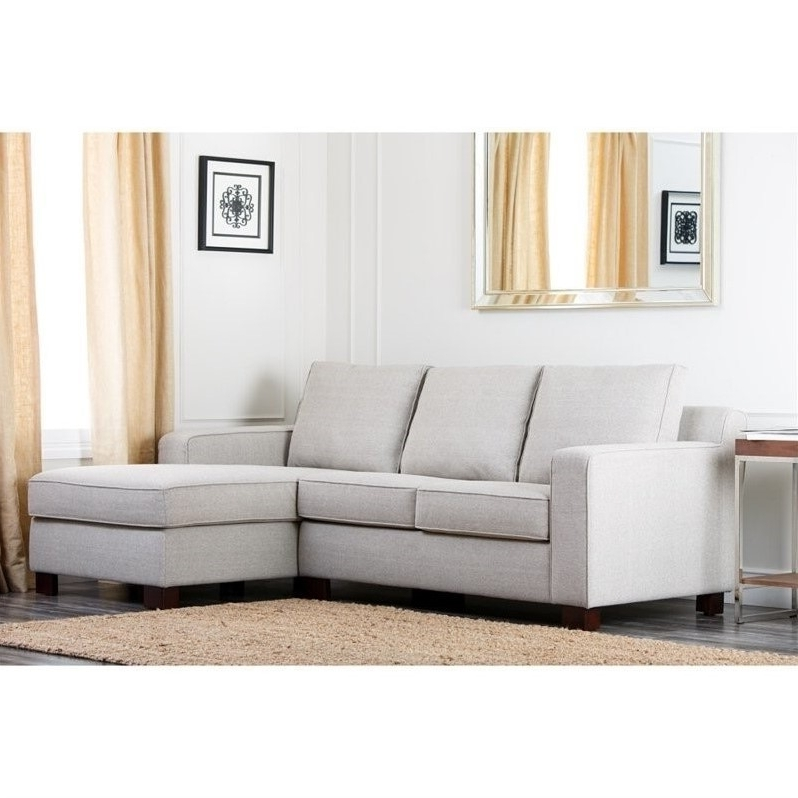 Abbyson Sectional Sofas With Regard To Most Recent Abbyson Living Regina Fabric Sectional Sofa In Gray – Rl 1321 Gry (View 5 of 15)
