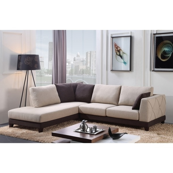 Abbyson 'verona' Fabric Sectional Sofa – Free Shipping Today Intended For Best And Newest Abbyson Sectional Sofas (View 1 of 15)