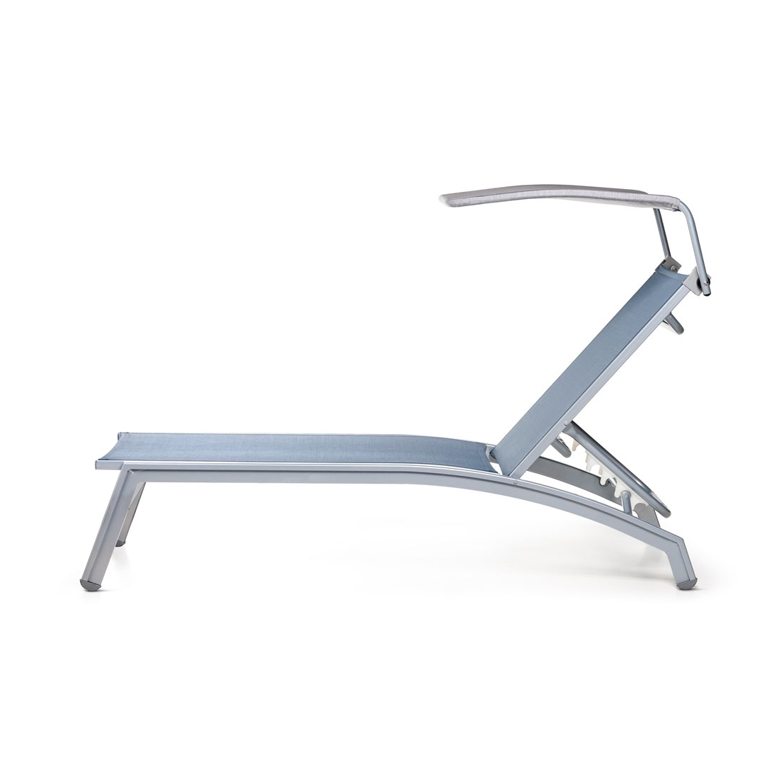 Adjustable Shade Canopywith Chaise Lounge – Pavilion Furniture Regarding Most Recently Released Chaise Lounge Chair With Canopy (View 2 of 15)