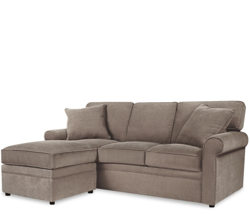 Adorable Couch With Ottoman Boston Interiors Stuart Sofa With Regarding Recent Sofas With Chaise And Ottoman (View 2 of 10)
