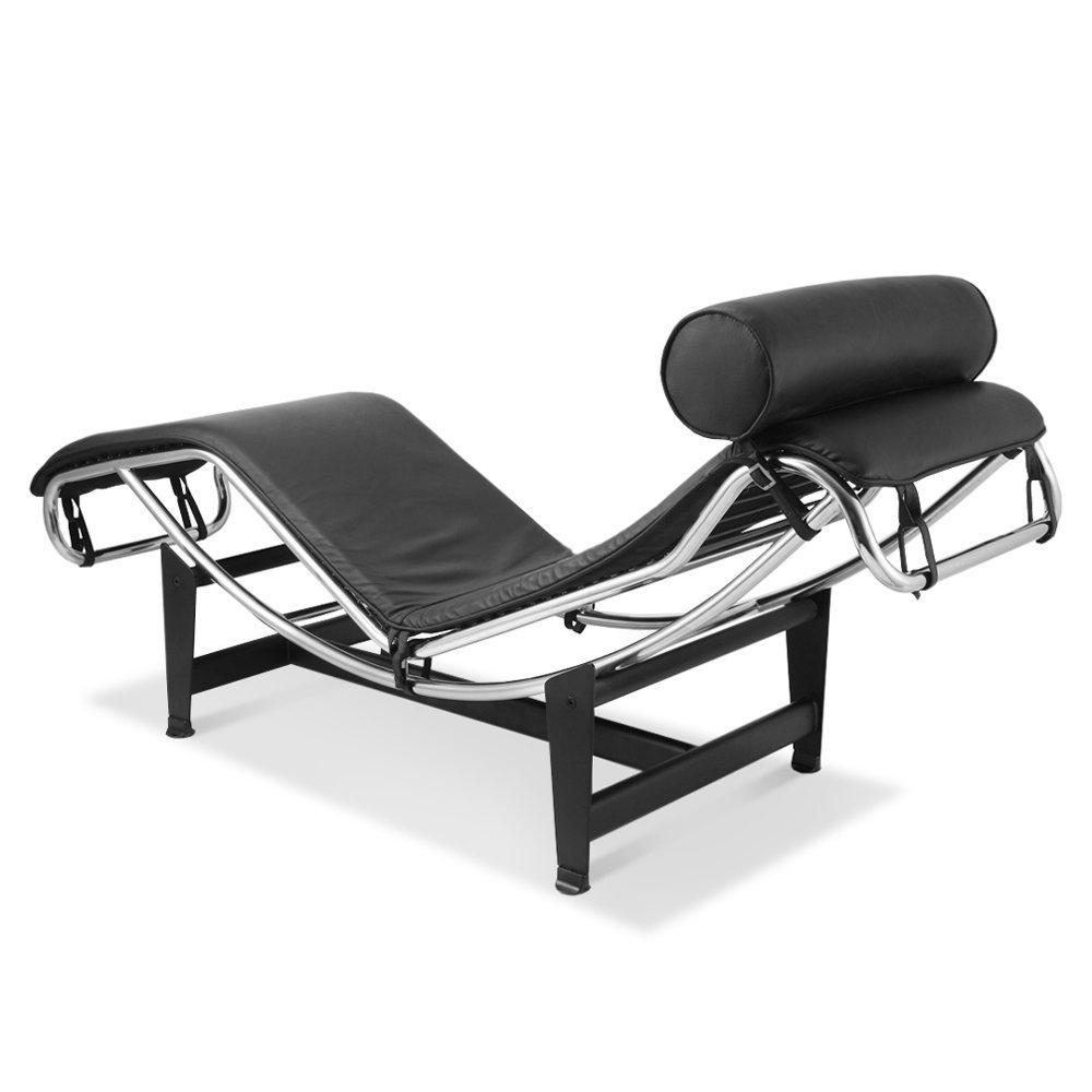 Amazon: Artis Decor Le Corbusier Style Lc4 Chaise Lounge Chair With Trendy Brown Chaise Lounge Chair By Le Corbusier (View 13 of 15)