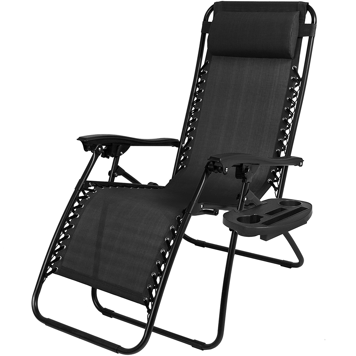 Amazon : Best Choice Products Zero Gravity Chairs Case Of (2 In Recent Zero Gravity Chaise Lounge Chairs (View 4 of 15)