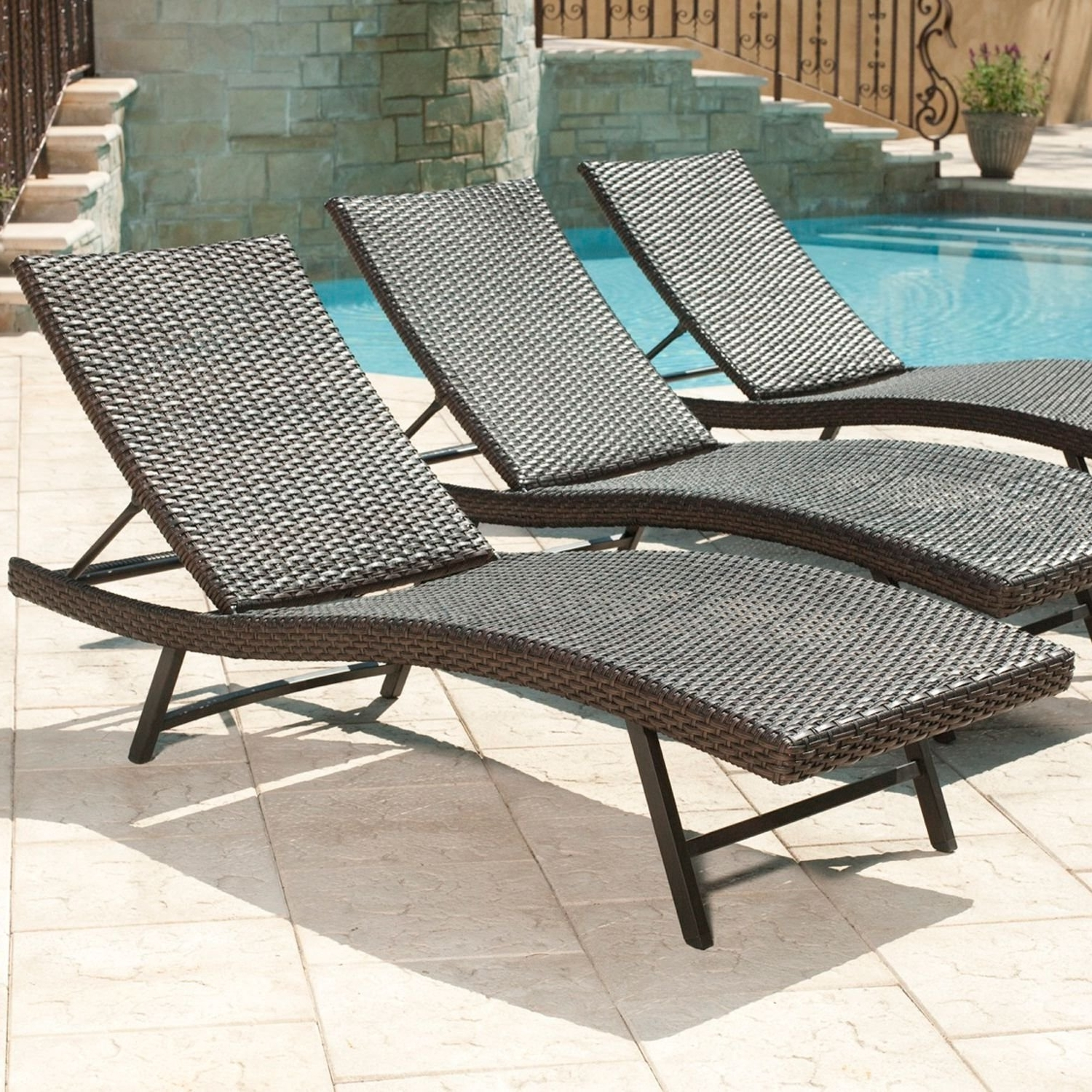 Amazon: Member's Mark« Heritage Chaise Lounge Chair: Garden Regarding Favorite Sam's Club Outdoor Chaise Lounge Chairs (View 4 of 15)