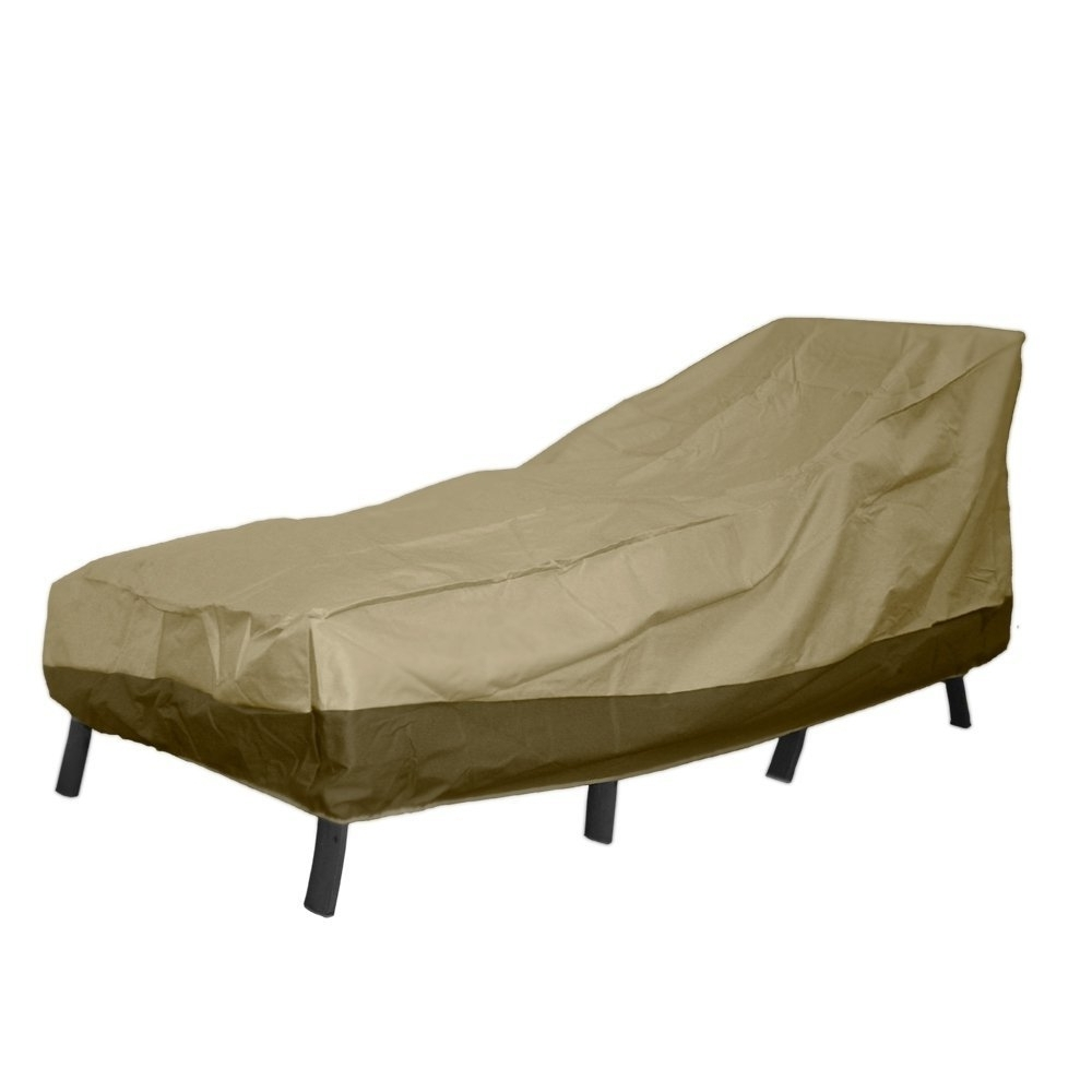 Amazon : Patio Armor Chaise Lounge Cover, Large : Garden & Outdoor Intended For Most Current Chaise Lounge Covers (View 3 of 15)