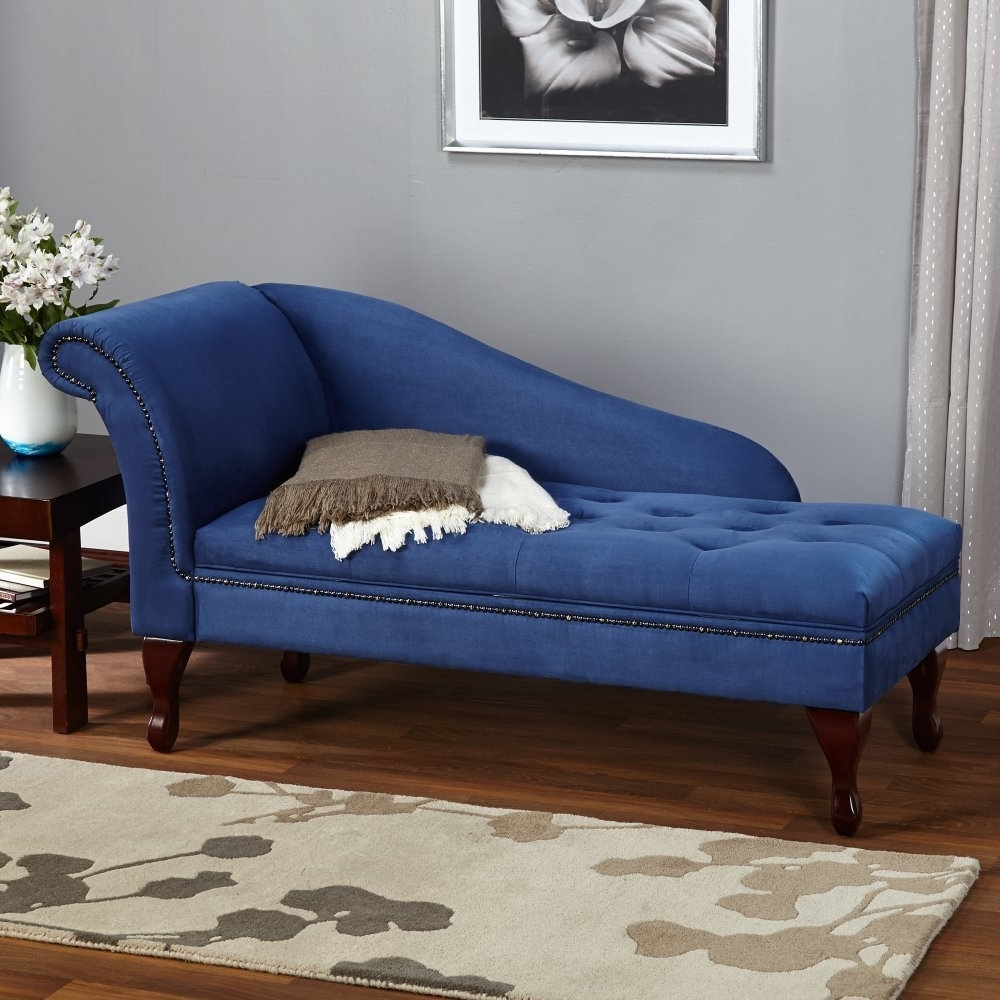 Amazon: Target Marketing Systems Storage Chaise Lounge Intended For Most Current Blue Chaise Lounges (View 3 of 15)
