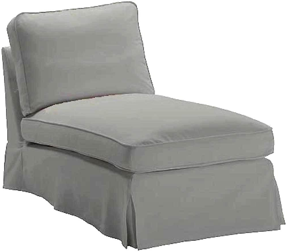 Amazon: The Light Gray Ikea Ektorp Chaise Cover Replacement Is Inside Well Known Ikea Chaise Lounges (View 12 of 15)