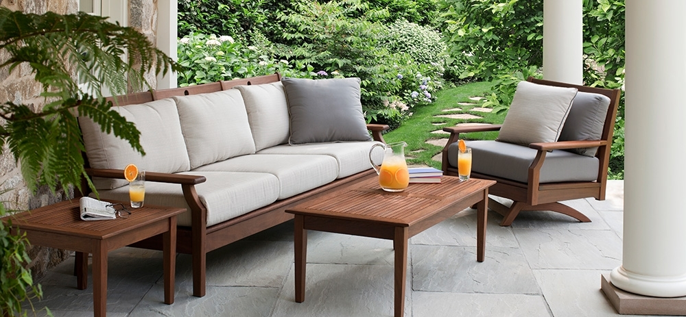 American Backyard Inside Patio Sofas (View 4 of 10)
