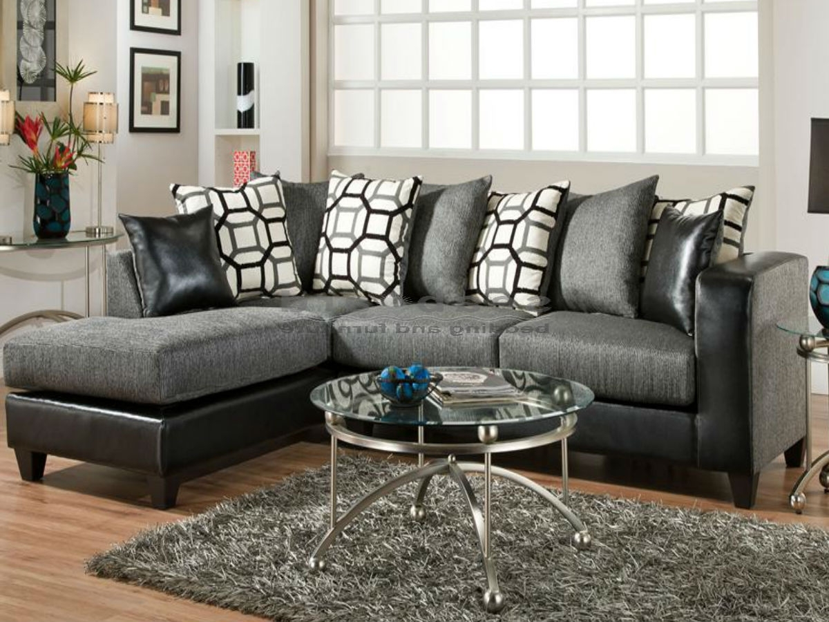 Amusing Charcoal Gray Sectional Sofa With Chaise Lounge 91 On Pull With Most Recently Released Gray Sectional Sofas With Chaise (View 15 of 15)